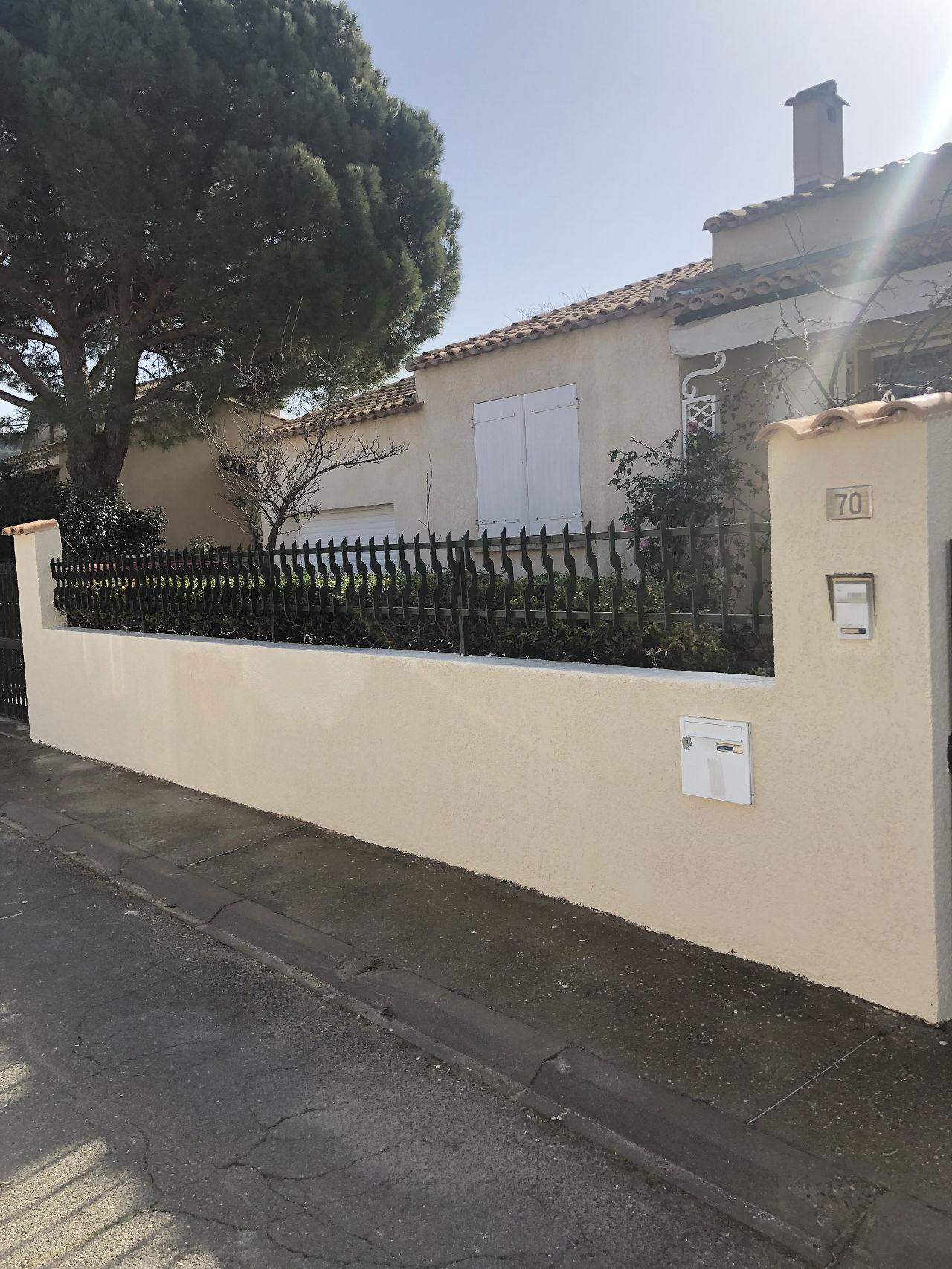 nettoyage façade Agde après