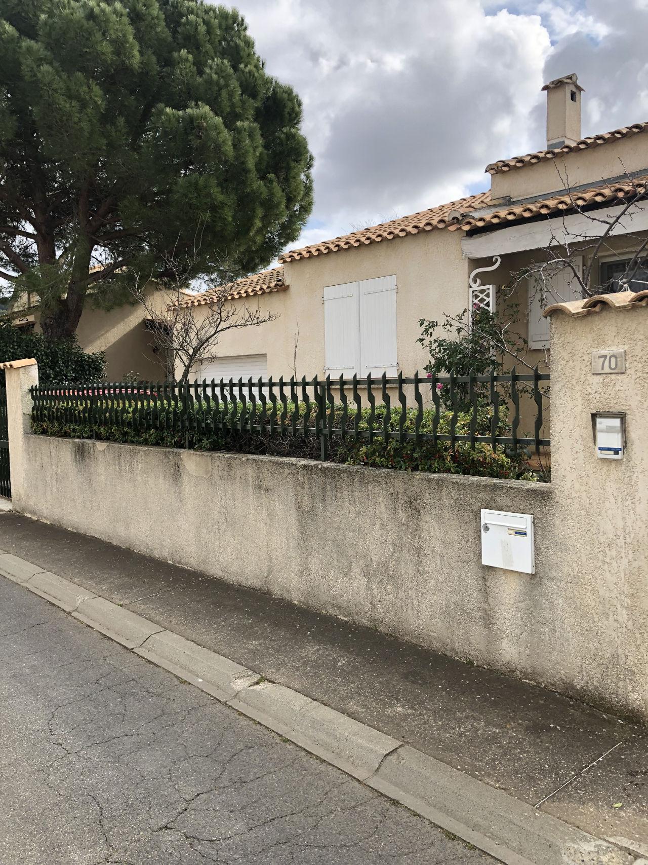 nettoyage façade Agde avant