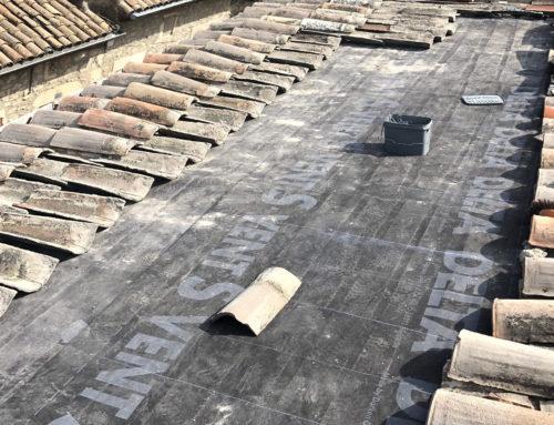 Rénovation toiture à Agde (34)