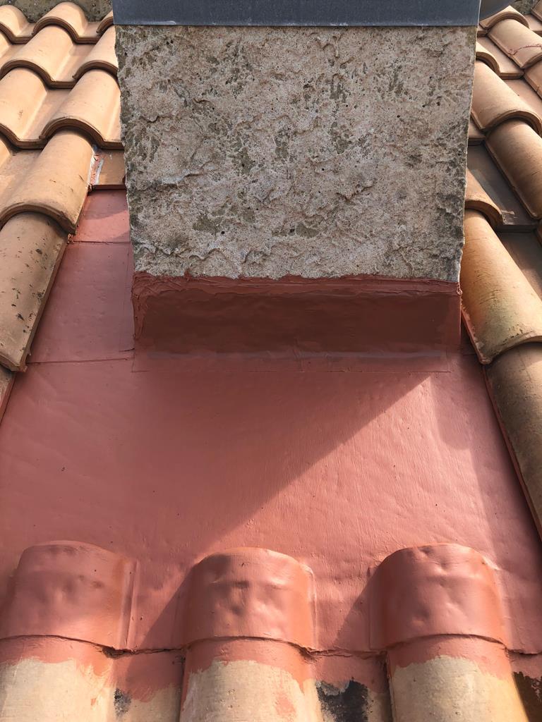 étanchéité pied de cheminé Agde